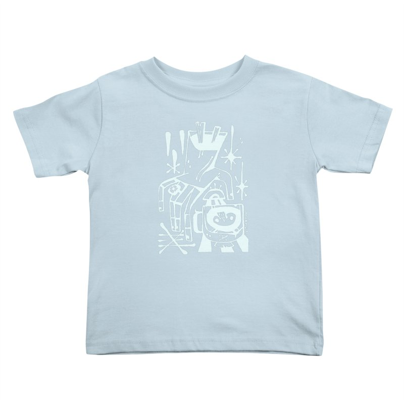 MORNING BREW (wht) Wishbow x Voidmerch Kids Toddler T-Shirt by VOID MERCH