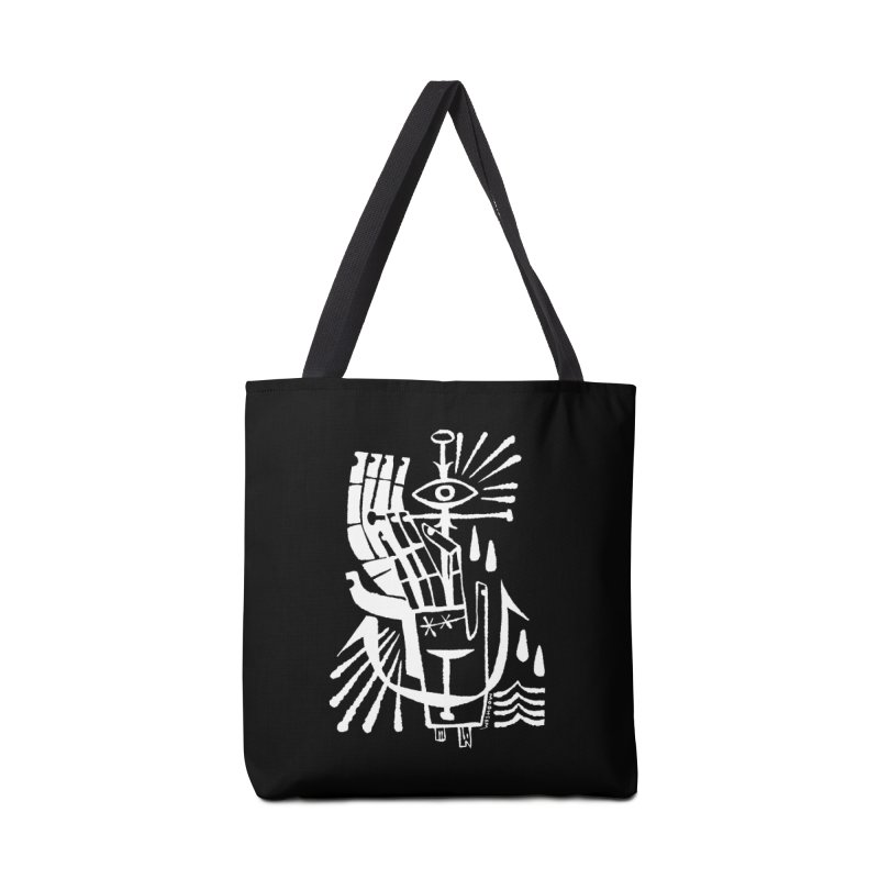 ANCHOR (wht) Wishbow x Voidmerch Accessories Tote Bag Bag by VOID MERCH