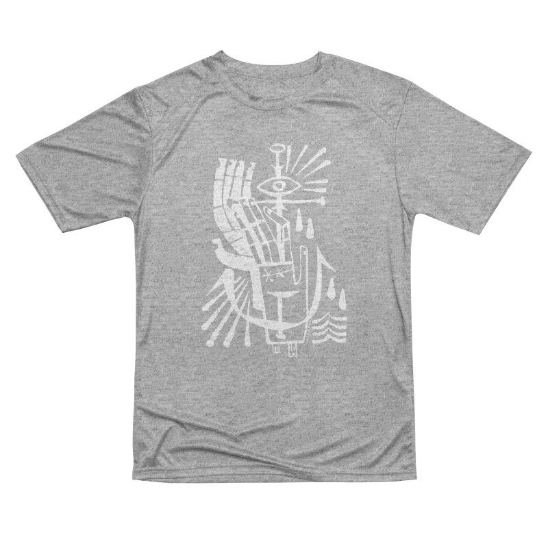 ANCHOR (wht) Wishbow x Voidmerch Women's Performance Unisex T-Shirt by VOID MERCH