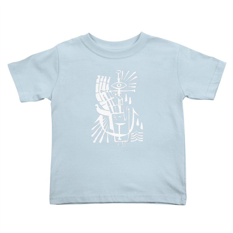 ANCHOR (wht) Wishbow x Voidmerch Kids Toddler T-Shirt by VOID MERCH