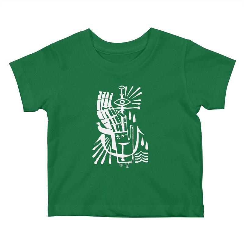 ANCHOR (wht) Wishbow x Voidmerch Kids Baby T-Shirt by VOID MERCH