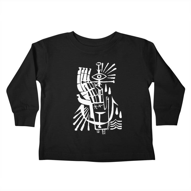 ANCHOR (wht) Wishbow x Voidmerch Kids Toddler Longsleeve T-Shirt by VOID MERCH