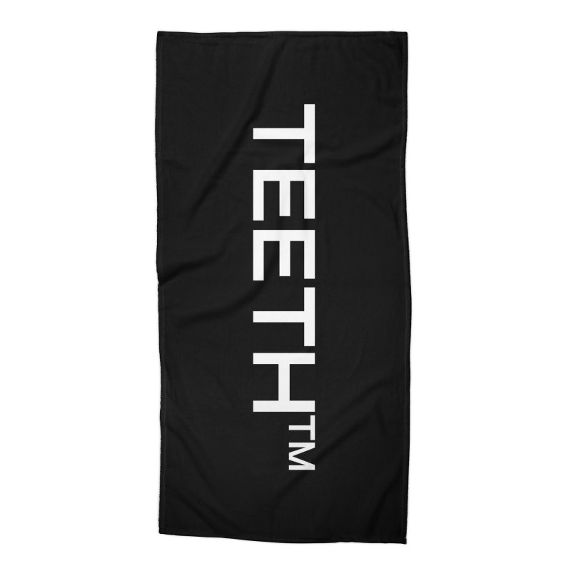 TEETH(tm) Accessories Beach Towel by VOID MERCH