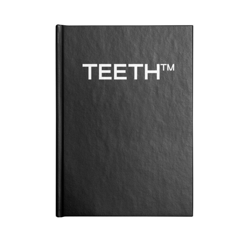 TEETH(tm) Accessories Blank Journal Notebook by VOID MERCH