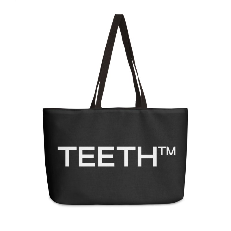 TEETH(tm) Accessories Weekender Bag Bag by VOID MERCH