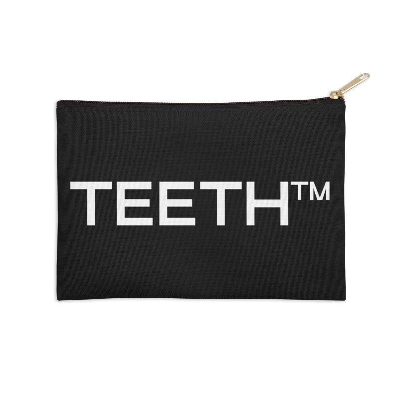 TEETH(tm) Accessories Zip Pouch by VOID MERCH