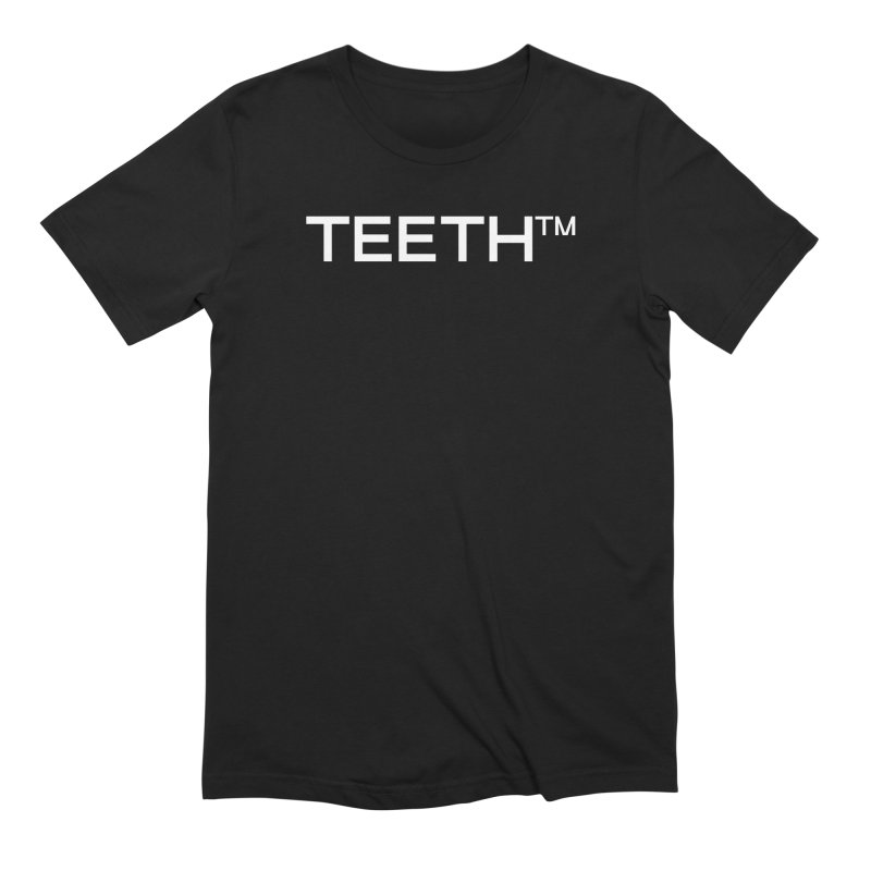 TEETH(tm) in Men's Extra Soft T-Shirt Black by VOID MERCH