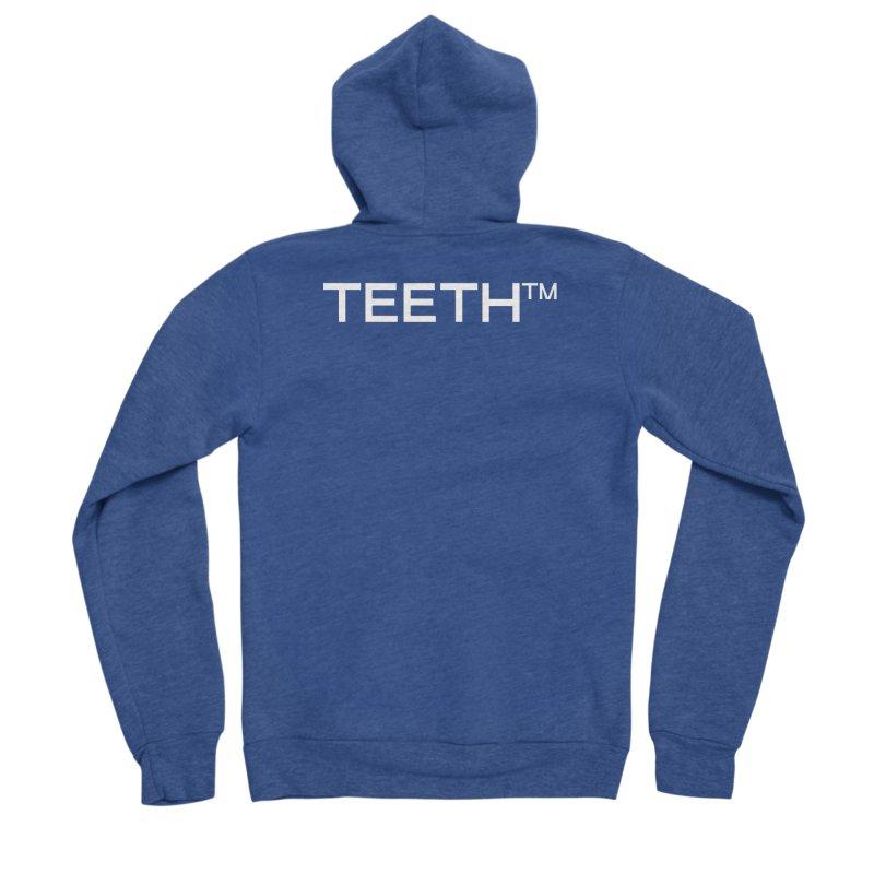 TEETH(tm) Men's Sponge Fleece Zip-Up Hoody by VOID MERCH