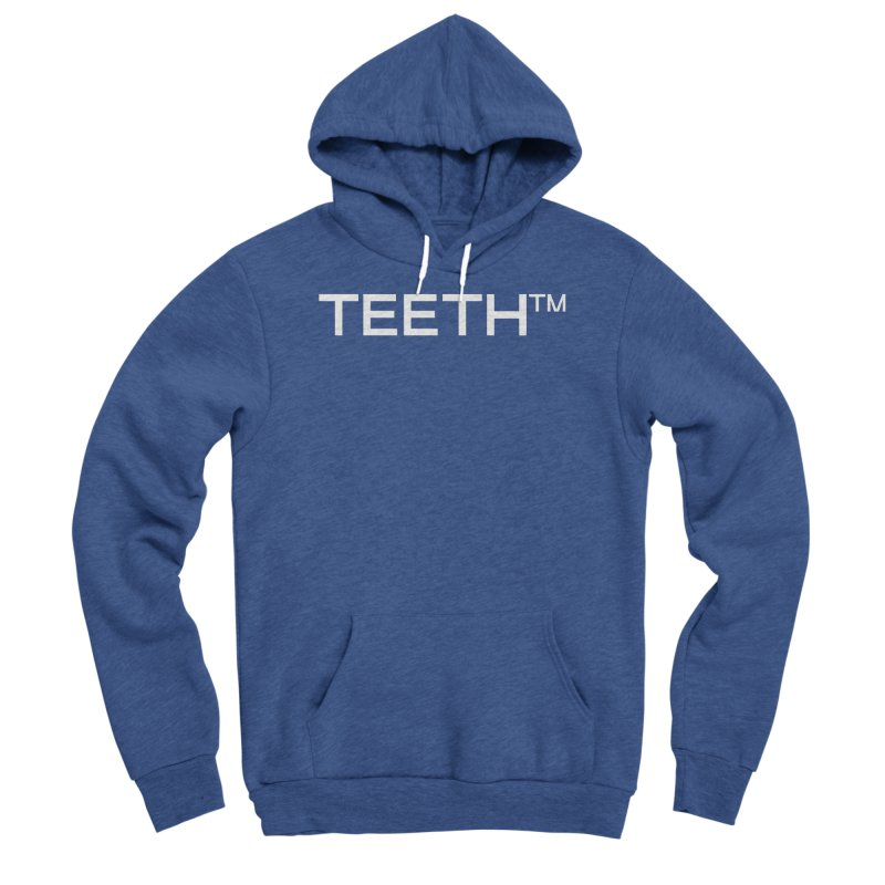 TEETH(tm) Men's Sponge Fleece Pullover Hoody by VOID MERCH