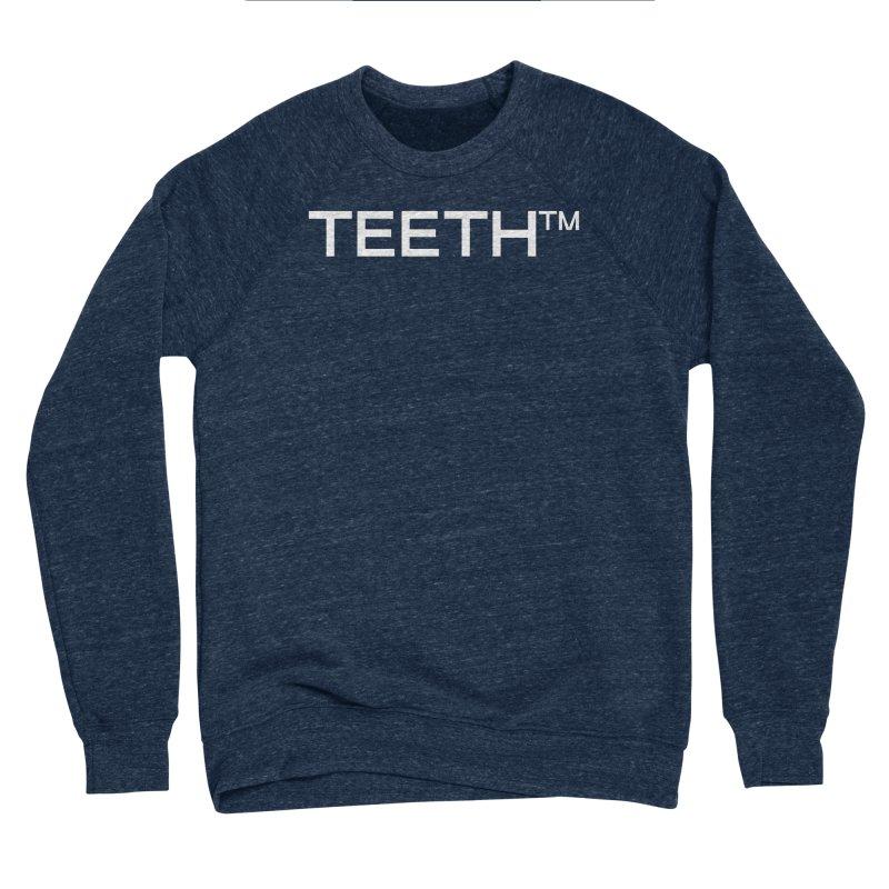 TEETH(tm) Men's Sponge Fleece Sweatshirt by VOID MERCH