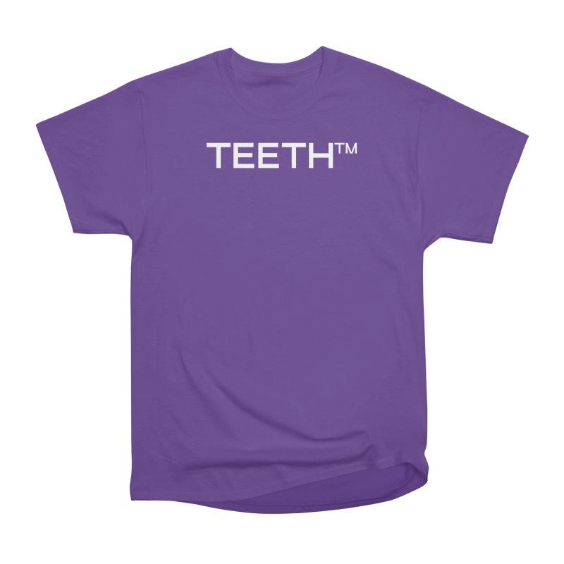 TEETH(tm) Women's Heavyweight Unisex T-Shirt by VOID MERCH