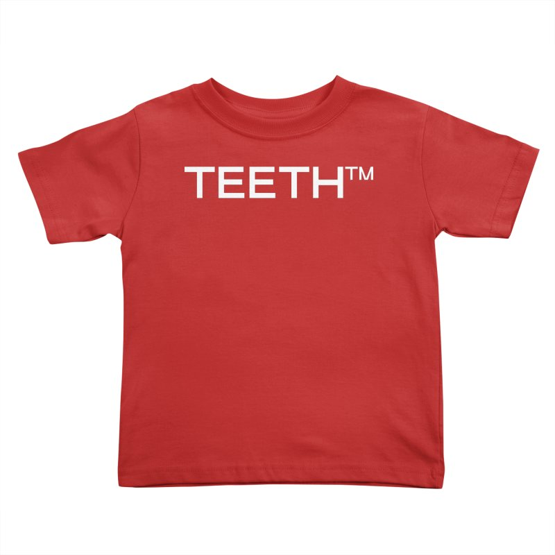 TEETH(tm) Kids Toddler T-Shirt by VOID MERCH