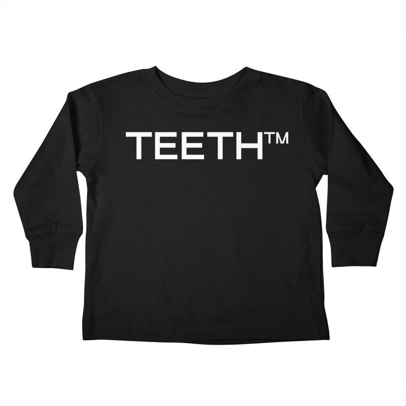 TEETH(tm) Kids Toddler Longsleeve T-Shirt by VOID MERCH