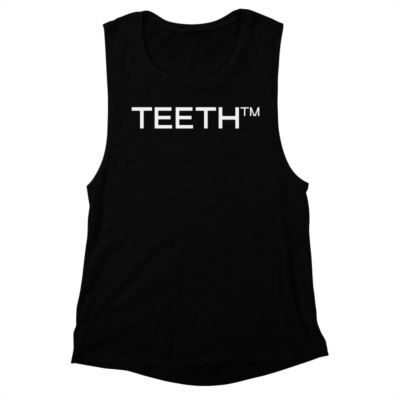 TEETH(tm) Women's Muscle Tank by VOID MERCH