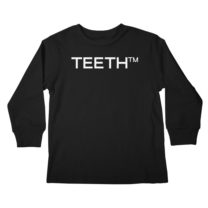 TEETH(tm) Kids Longsleeve T-Shirt by VOID MERCH