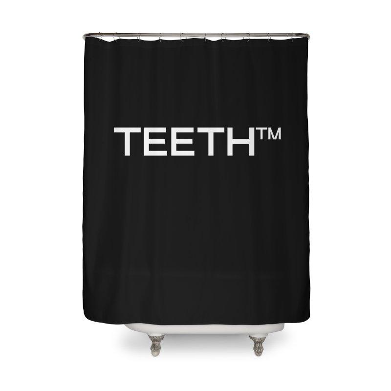 TEETH(tm) Home Shower Curtain by VOID MERCH