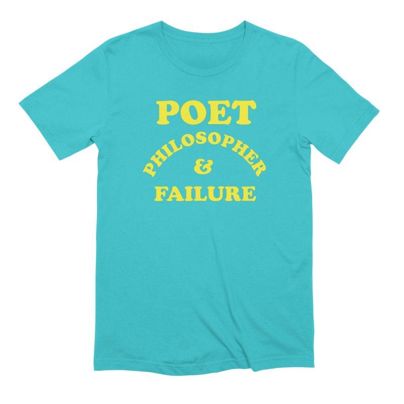 POET PHILOSOPHER & FAILURE (yllw) Men's Extra Soft T-Shirt by VOID MERCH