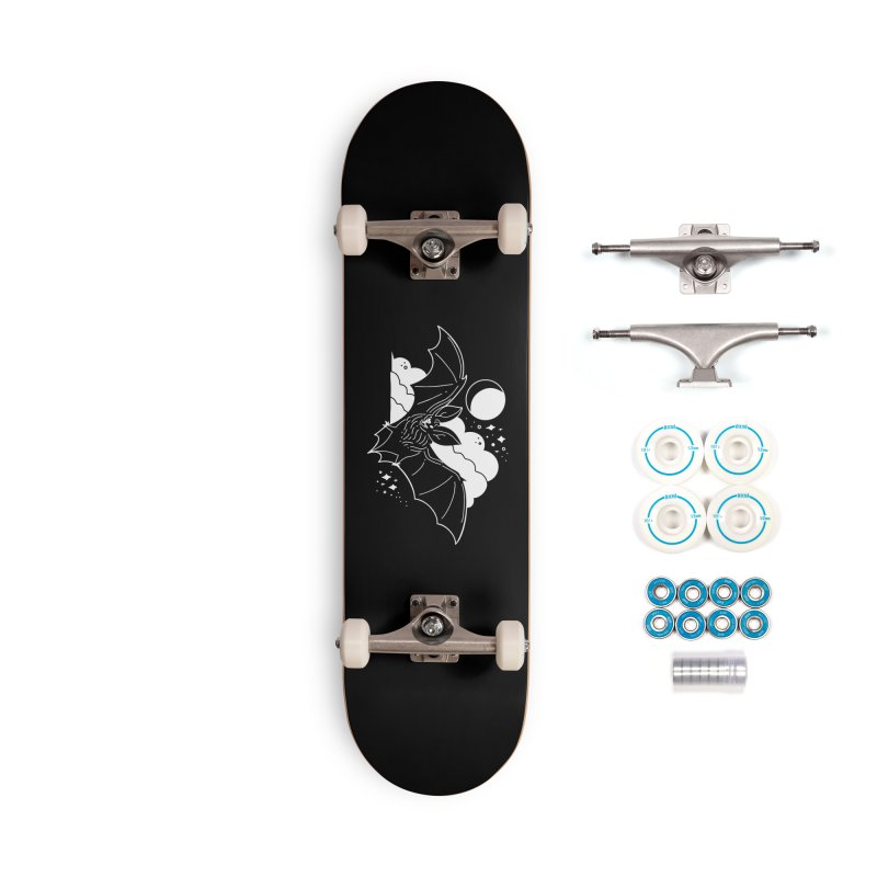 Creature of the Night (Ishii x Voidmerch) Accessories Complete - Basic Skateboard by VOID MERCH