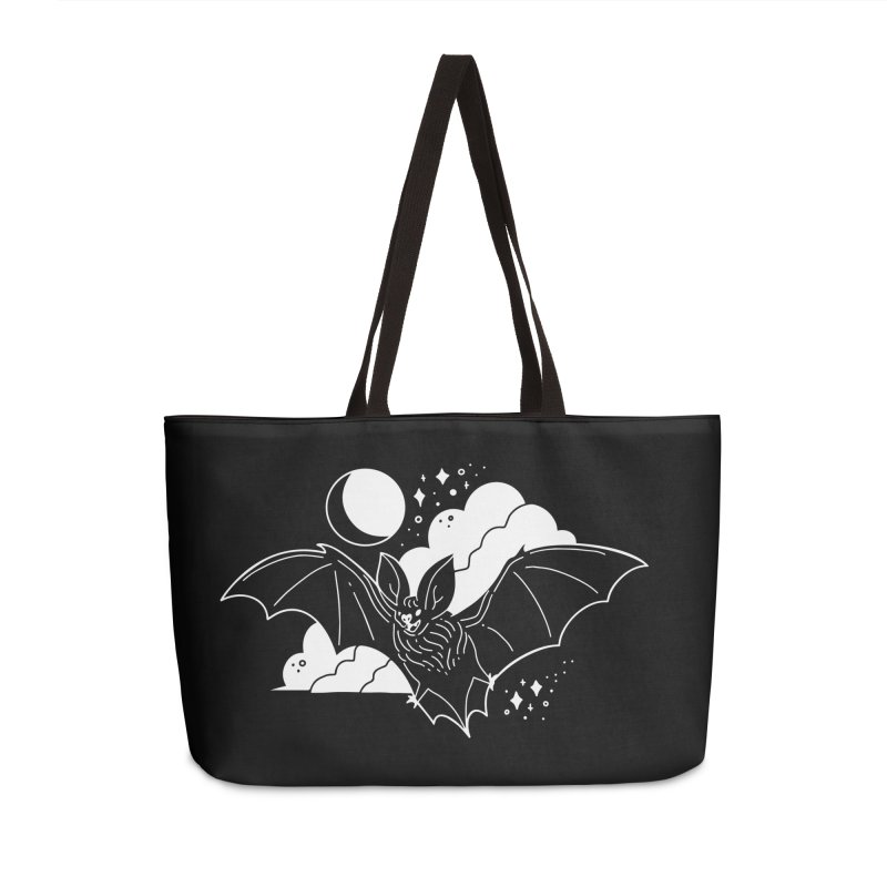 Creature of the Night (Ishii x Voidmerch) Accessories Weekender Bag Bag by VOID MERCH