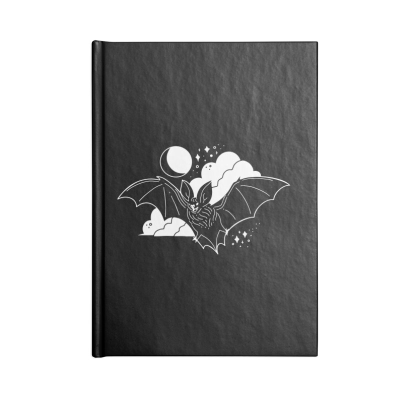 Creature of the Night (Ishii x Voidmerch) Accessories Lined Journal Notebook by VOID MERCH
