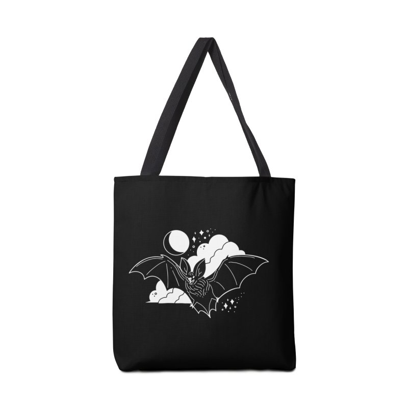 Creature of the Night (Ishii x Voidmerch) Accessories Tote Bag Bag by VOID MERCH