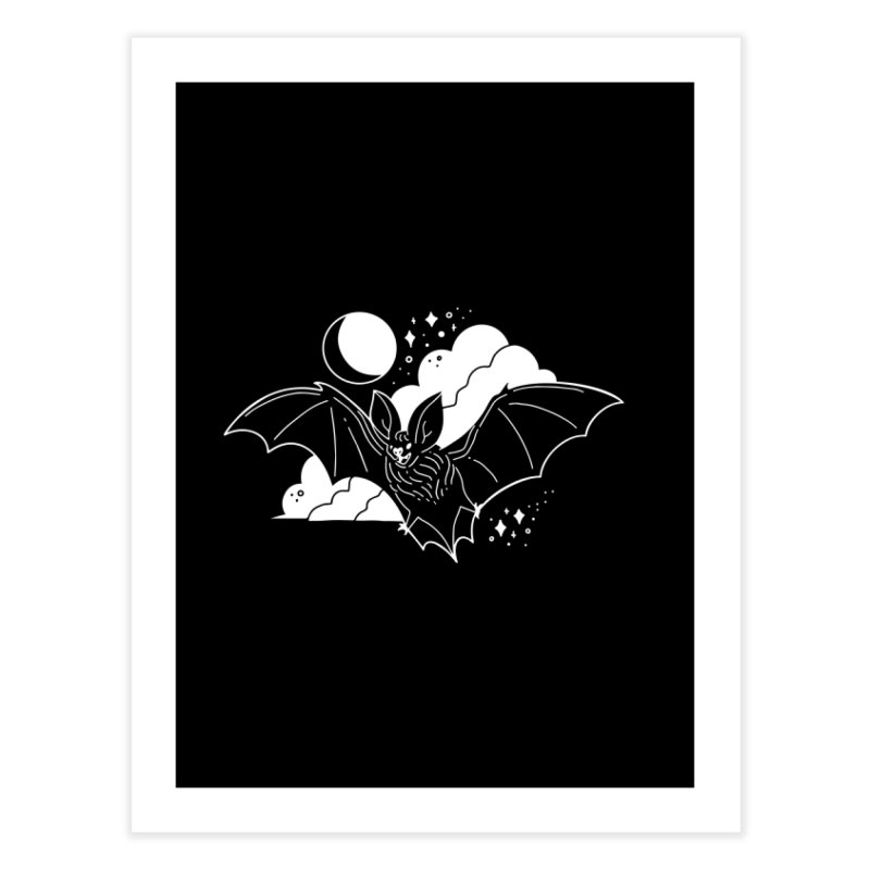 Creature of the Night (Ishii x Voidmerch) Home Fine Art Print by VOID MERCH