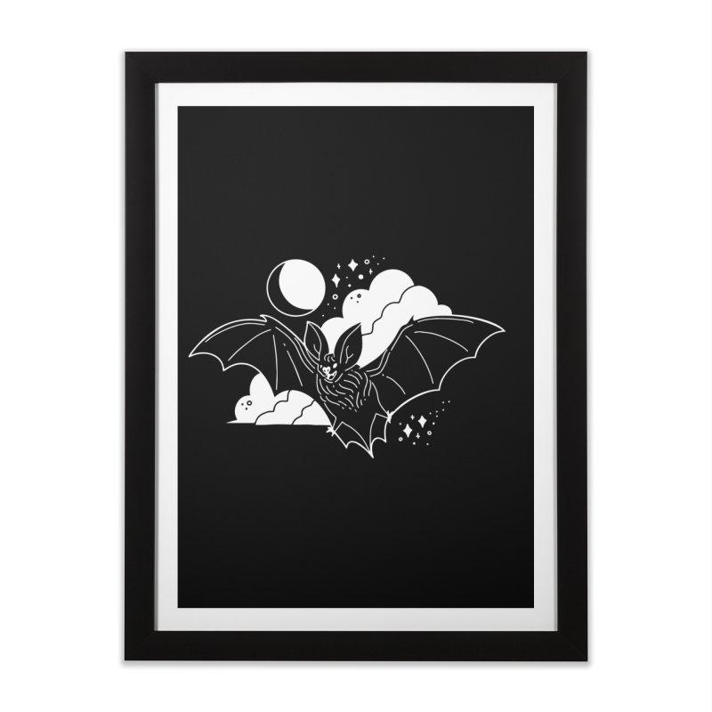 Creature of the Night (Ishii x Voidmerch) Home Framed Fine Art Print by VOID MERCH
