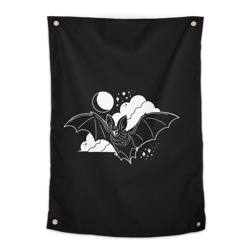 Creature of the Night (Ishii x Voidmerch) Home Tapestry by VOID MERCH