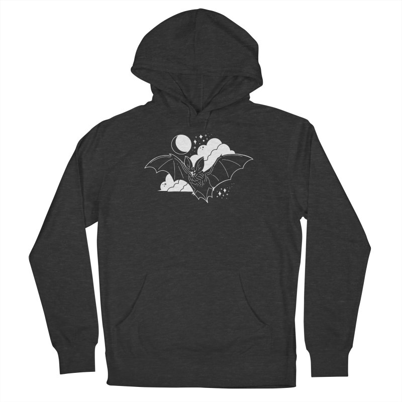 Creature of the Night (Ishii x Voidmerch) Men's French Terry Pullover Hoody by VOID MERCH