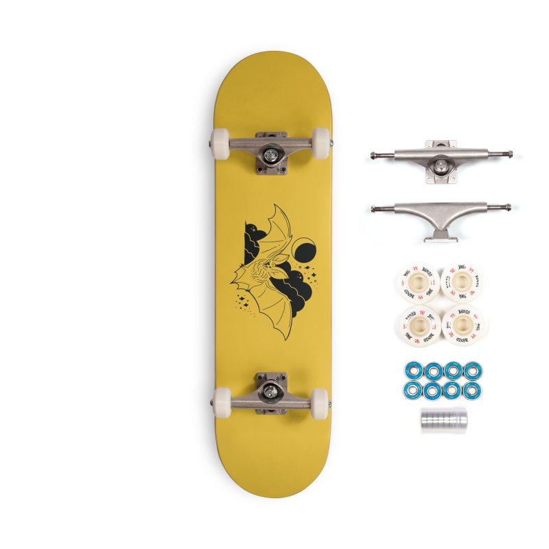 Creature of the Night (Ishii x Voidmerch) Accessories Complete - Premium Skateboard by VOID MERCH