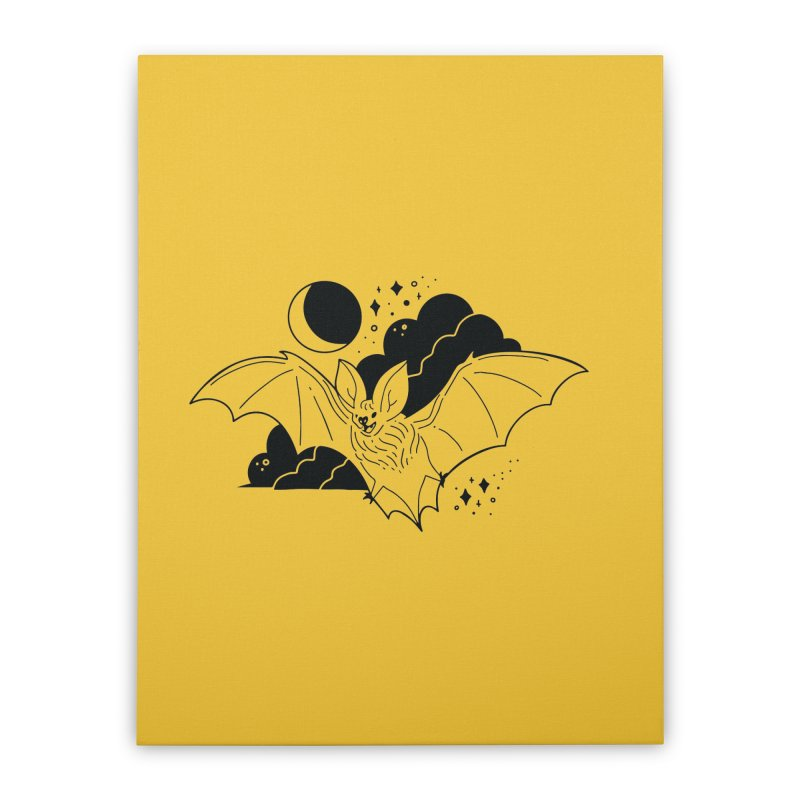 Creature of the Night (Ishii x Voidmerch) Home Stretched Canvas by VOID MERCH