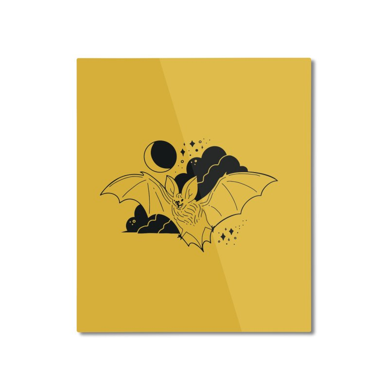 Creature of the Night (Ishii x Voidmerch) Home Mounted Aluminum Print by VOID MERCH