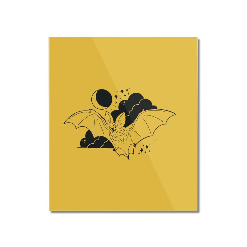 Creature of the Night (Ishii x Voidmerch) Home Mounted Acrylic Print by VOID MERCH