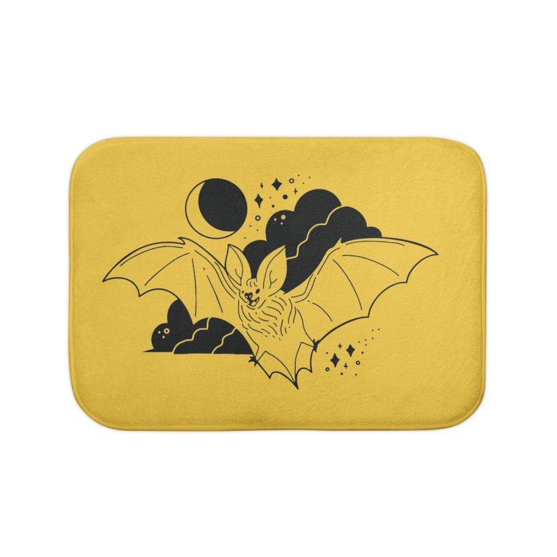 Creature of the Night (Ishii x Voidmerch) Home Bath Mat by VOID MERCH