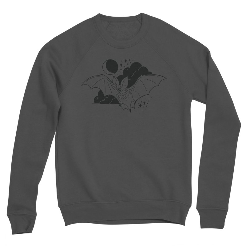 Creature of the Night (Ishii x Voidmerch) Women's Sponge Fleece Sweatshirt by VOID MERCH