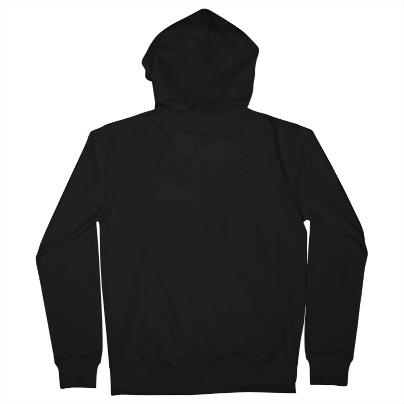 Creature of the Night (Ishii x Voidmerch) Women's French Terry Zip-Up Hoody by VOID MERCH