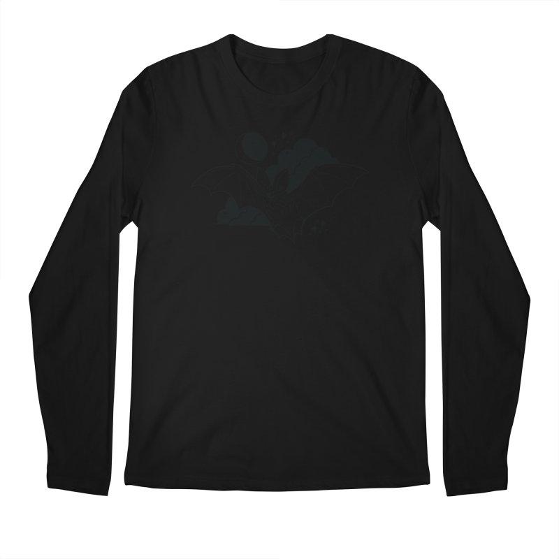 Creature of the Night (Ishii x Voidmerch) Men's Regular Longsleeve T-Shirt by VOID MERCH