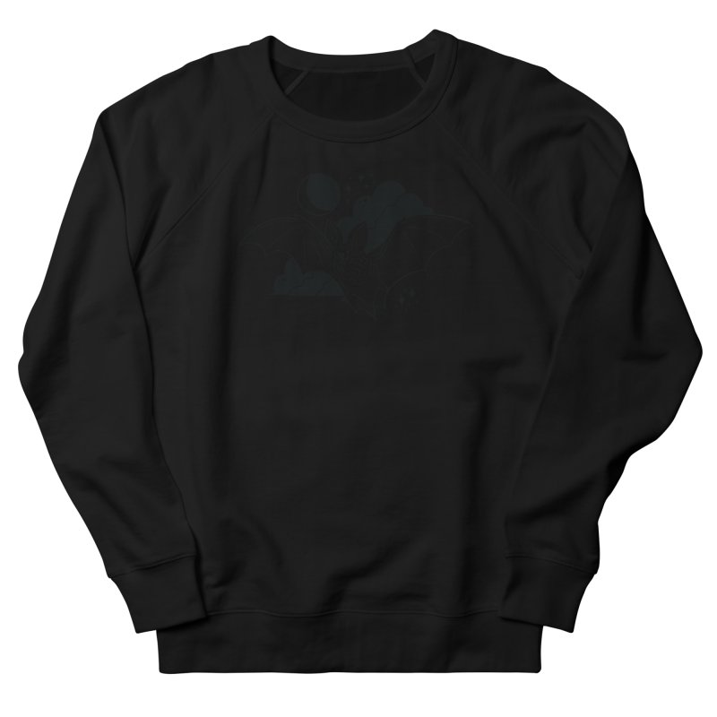 Creature of the Night (Ishii x Voidmerch) Women's French Terry Sweatshirt by VOID MERCH