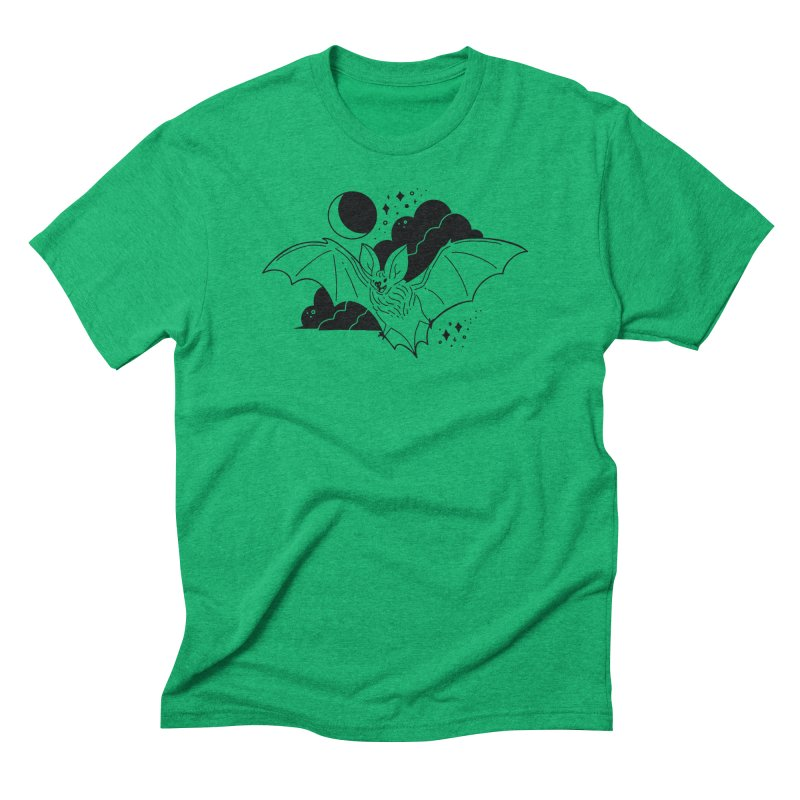 Creature of the Night (Ishii x Voidmerch) Men's Triblend T-Shirt by VOID MERCH