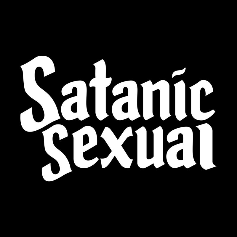 SATANIC SEXUAL (wht) Women's Sweatshirt by VOID MERCH