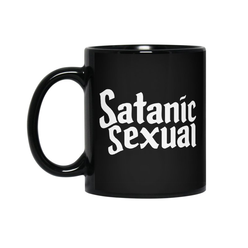 SATANIC SEXUAL (wht) Accessories Standard Mug by VOID MERCH
