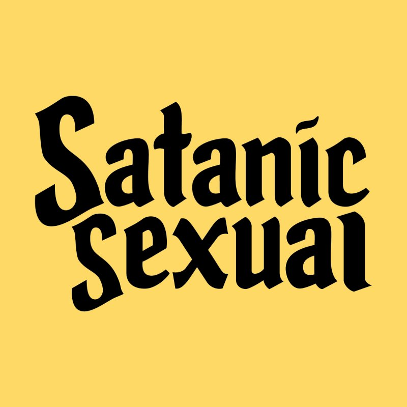 Satanic Sexual (blk) Women's Tank by VOID MERCH