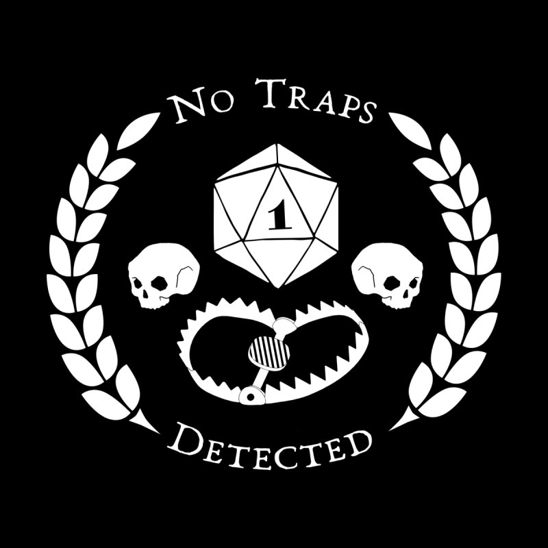 NO TRAPS DETECTED (wht) Women's T-Shirt by VOID MERCH