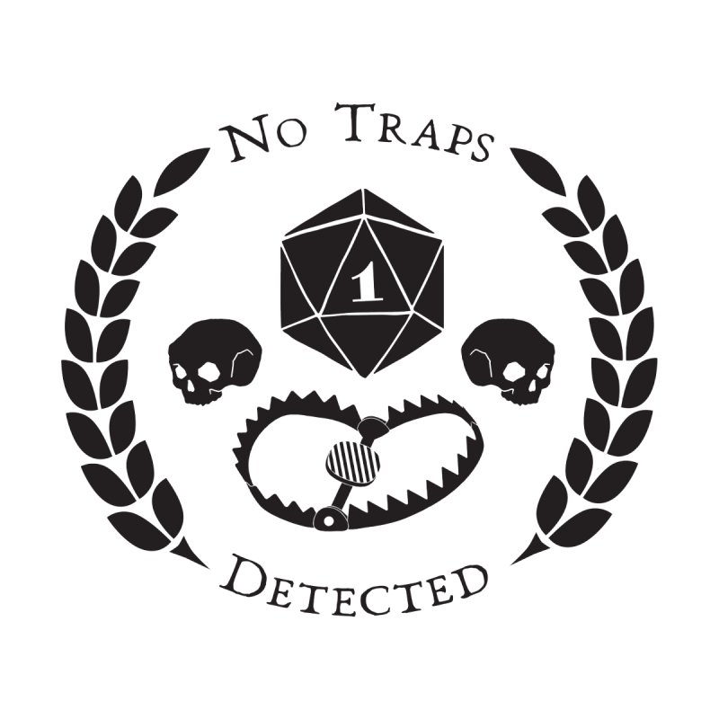 No Traps Detected! (blk) by VOID MERCH
