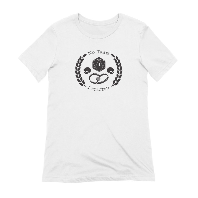 No Traps Detected! (blk) Women's Extra Soft T-Shirt by VOID MERCH