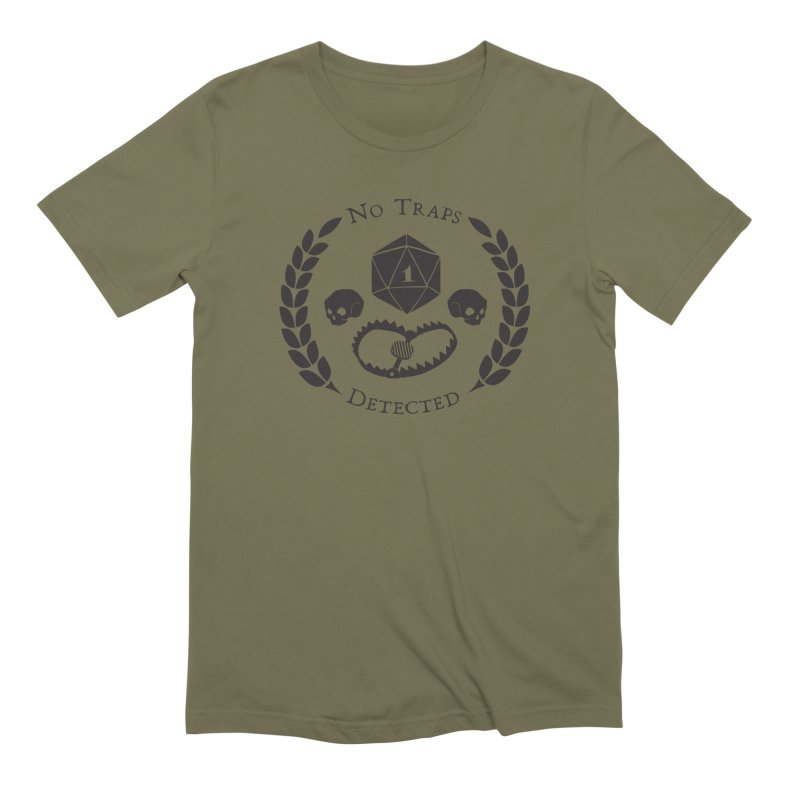 No Traps Detected! (blk) Men's Extra Soft T-Shirt by VOID MERCH
