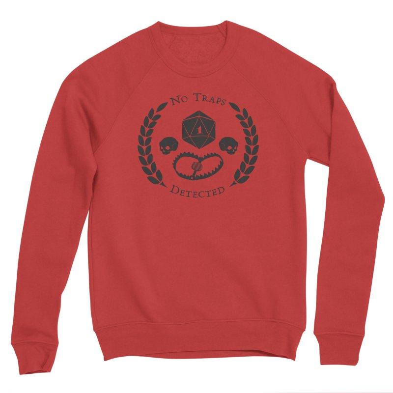 No Traps Detected! (blk) Women's Sponge Fleece Sweatshirt by VOID MERCH