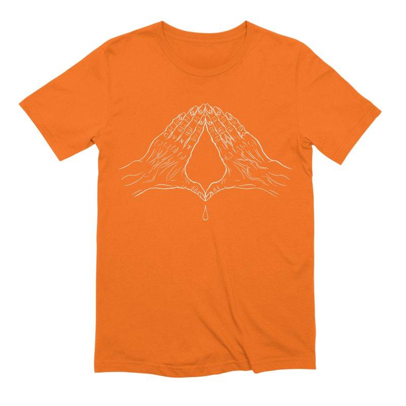 CVNT Lacour x Voidmerch (wht) Men's Extra Soft T-Shirt by VOID MERCH