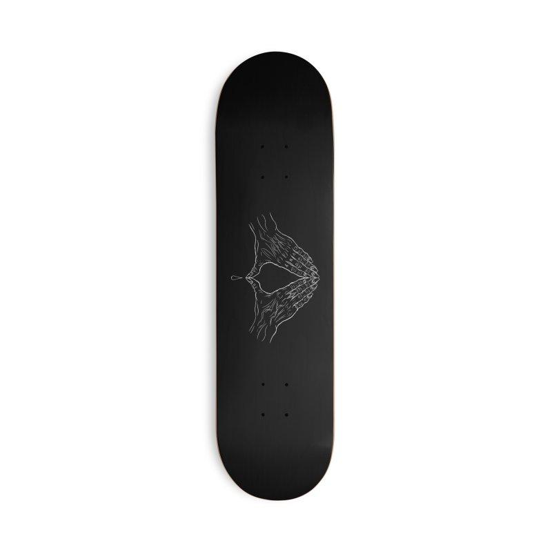 CVNT Lacour x Voidmerch (wht) Accessories Deck Only Skateboard by VOID MERCH