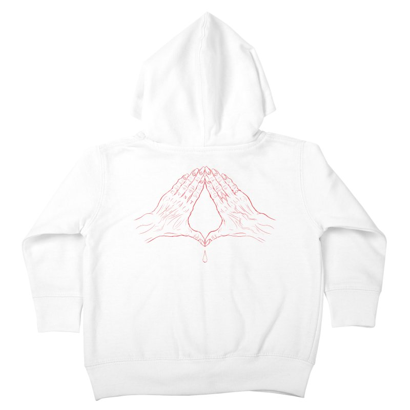 CVNT Lacour x Voidmerch (rd) Kids Toddler Zip-Up Hoody by VOID MERCH